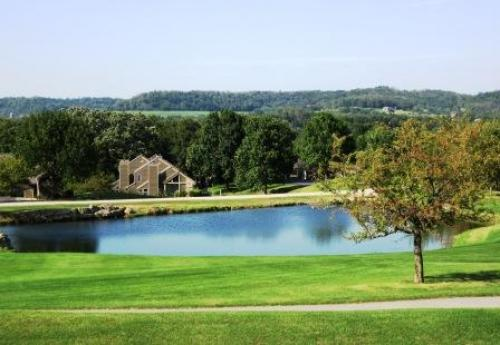 Galena IL Vacation Rentals - Gorgeous Updated 1 Bedroom Condo with Water and Golf Views